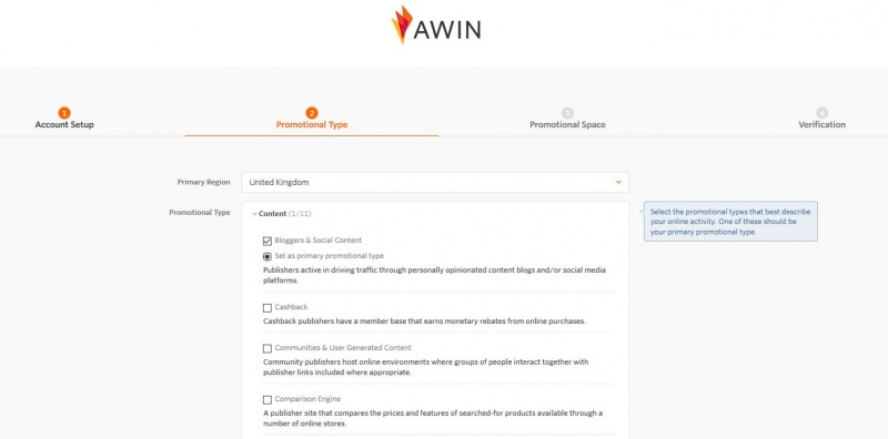 Signing Up As An Affiliate - Wiki
